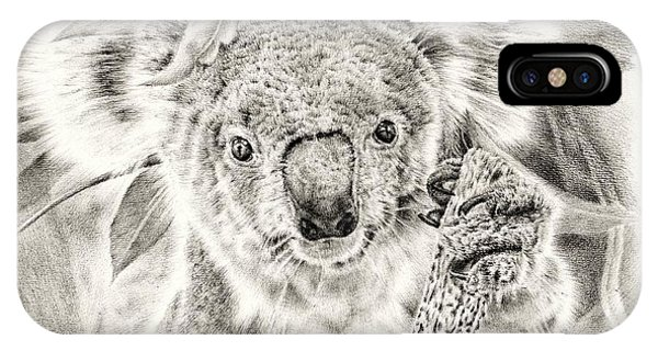 Koala Garage Girl IPhone Case