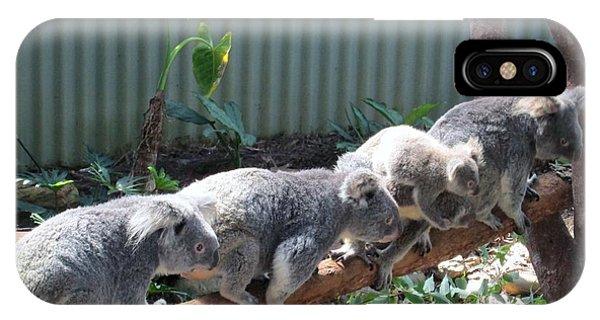 Koala Team IPhone Case