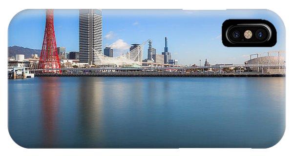Kobe Port Island Tower IPhone Case
