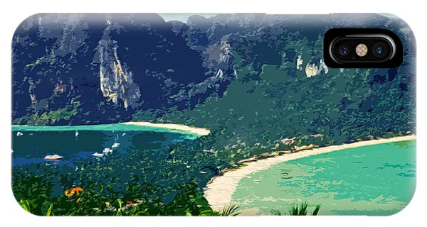 Sonne iPhone Case - Koh Phi Phi ... by Juergen Weiss