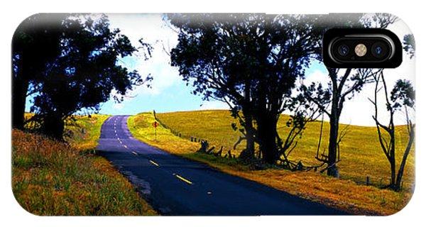 Kohala Mountain Road  Big Island Hawaii  IPhone Case