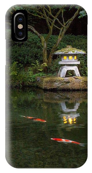 Koi By Lantern Light IPhone Case