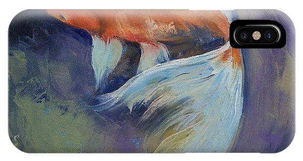Koi Fish Painting IPhone Case
