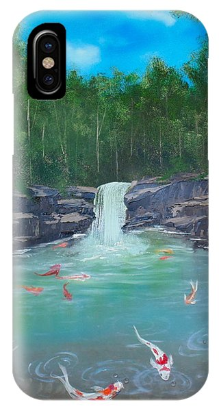 Koi Paradise IPhone Case
