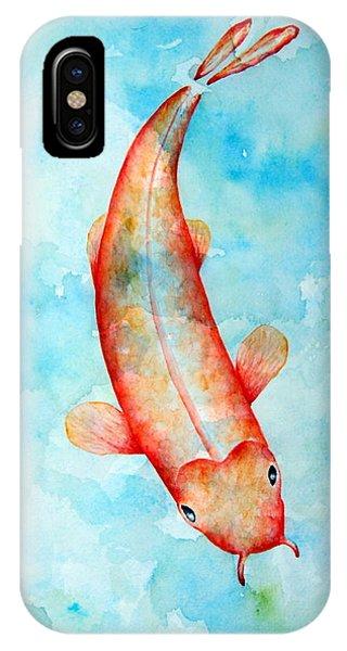 Koi Phone Case by Sarah Rosedahl