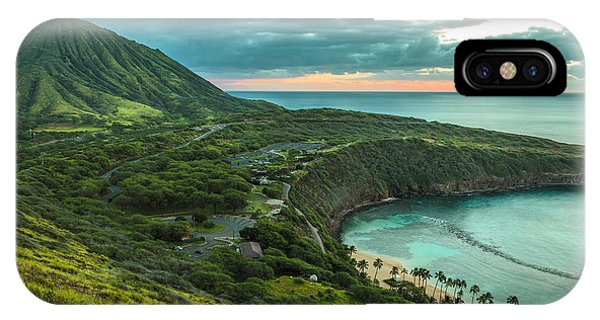 Koko Head Crater And Hanauma Bay 1 IPhone Case