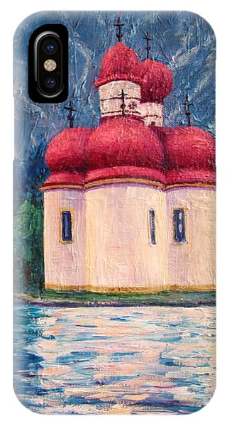 Konigsee Church IPhone Case