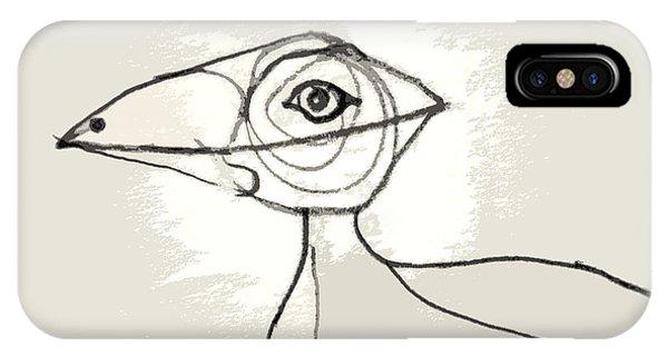 Koo-koo Bird IPhone Case