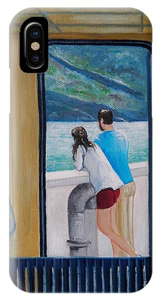 Kootenay Lake Ferry IPhone Case
