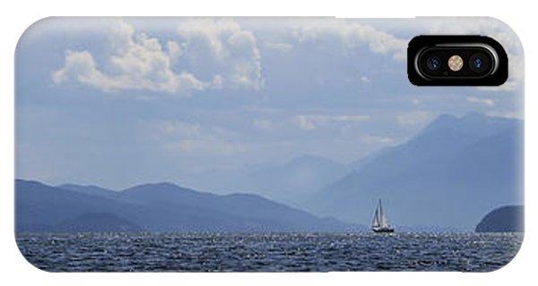 Kootenay Sail IPhone Case