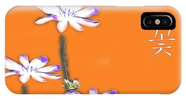 Korean Flower IPhone Case