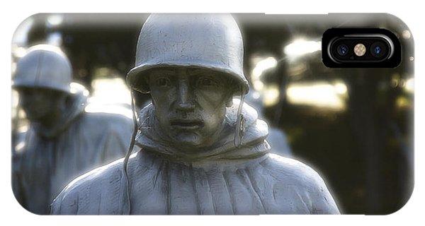 Korean War Soldier 2 IPhone Case