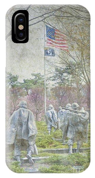 Korean War Veterans Memorial Washington Dc Beautiful Unique   IPhone Case