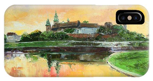 Krakow - Wawel Castle IPhone Case