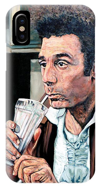 Deep Thought iPhone Case - Kramer by Tom Roderick