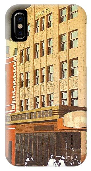 Kress On K Street Phone Case by Paul Guyer