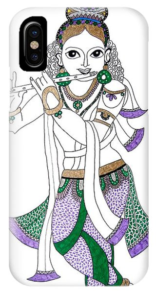 Krishna IIi IPhone Case
