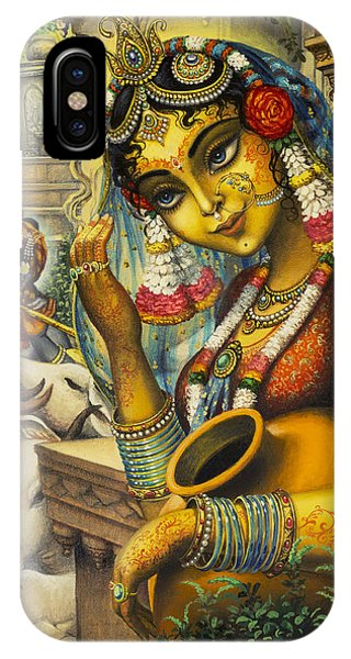 Krishna Is Here IPhone Case