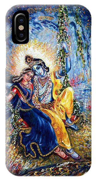 Krishna Leela IPhone Case