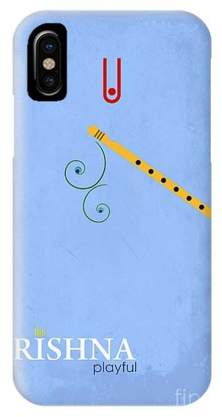 Worship iPhone Case - Krishna The Playful by Tim Gainey