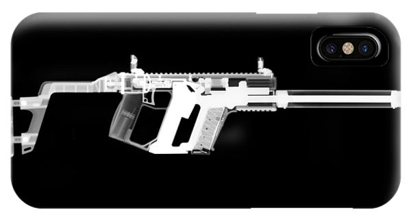 Calico M100 iPhone Case - Kriss Vector by Ray Gunz