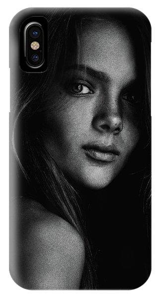 Grain iPhone Case - Kristina by Kharinova Uliana