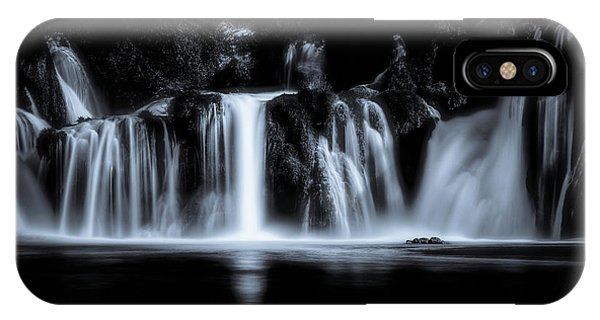 Flow iPhone Case - Krka by Marc Huybrighs