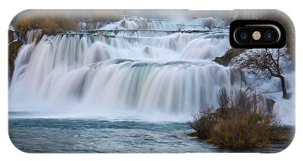 Krka Waterfalls IPhone Case