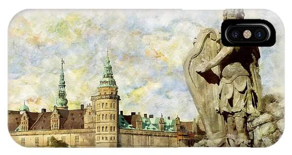 Art And Craft iPhone Case - Kronborg Castle by Catf