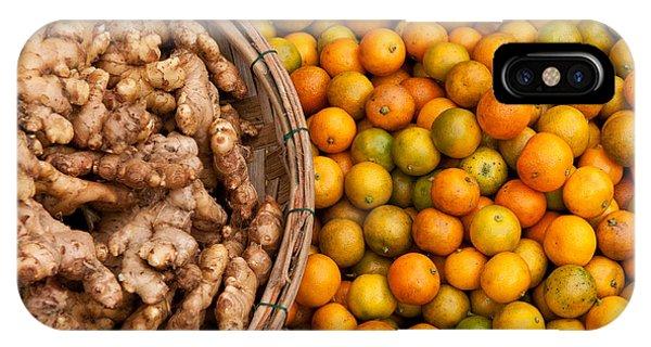 Kumquats And Ginger IPhone Case