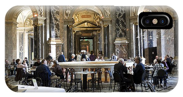 Kunsthistorische Museum Cafe II IPhone Case