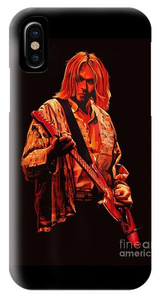 Popstar iPhone Case - Kurt Cobain Painting by Paul Meijering