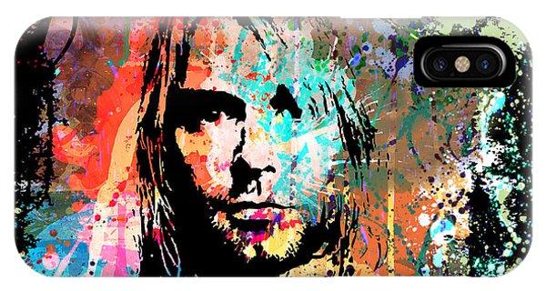Kurt Cobain Portrait IPhone Case