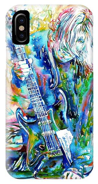 Kurt Cobain Portrait.1 IPhone Case