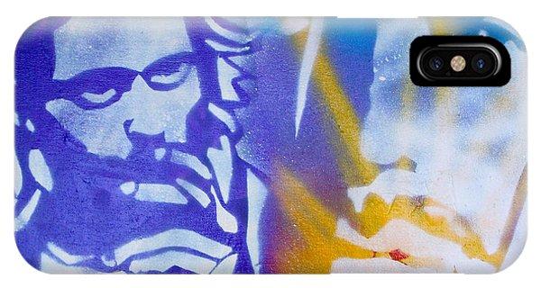 Mtv iPhone Case - Kurt Cobain by Tony B Conscious