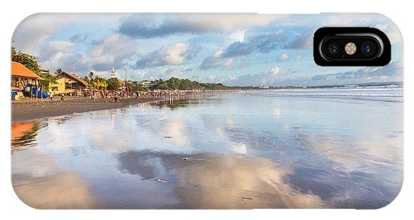 Kuta Beach In Seminyak IPhone Case