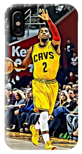 Kyrie Irving iPhone Case - Kyrie Irving by Florian Rodarte