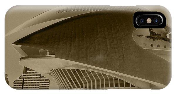 L' Hemisferic - Valencia IPhone Case