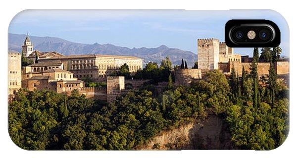 La Alhambra Panorama Phone Case by Francesco Riccardo  Iacomino