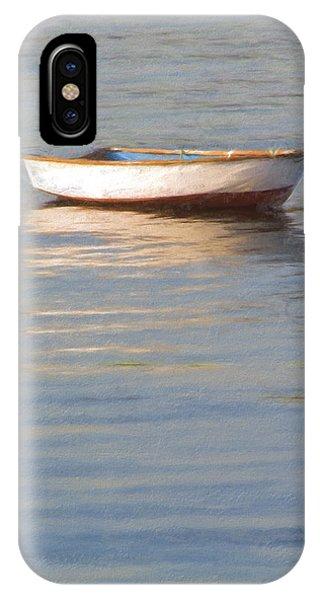 La Barque Au Crepuscule IPhone Case