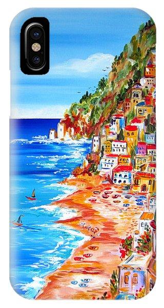 La Bella Positano Amalfi Coast IPhone Case