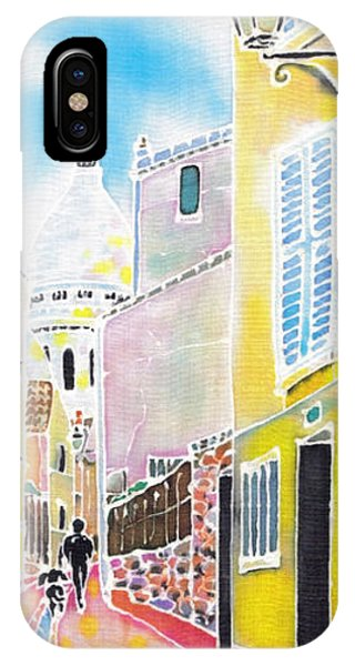 iPhone Case - La Butte Montmartre by Hisayo Ohta