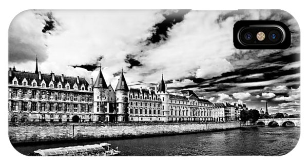 IPhone Case featuring the photograph La Conciergerie / Paris by Barry O Carroll