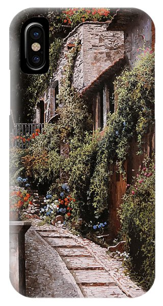 Cold iPhone Case - La Fontanella by Guido Borelli