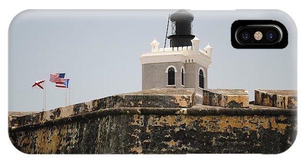 La Fortaleza Light Tower IPhone Case