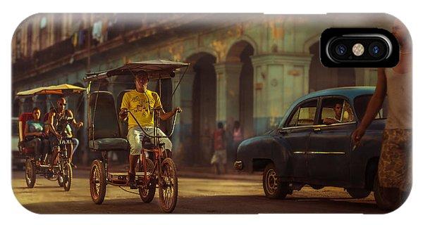 Car iPhone Case - La Habana, Sus Sombras, Su Polvo, Su Gente by Juan Diego Rivas