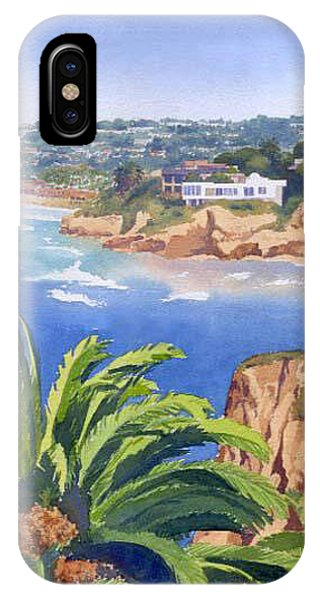 South Pacific Ocean iPhone Case - La Jolla Coast by Mary Helmreich