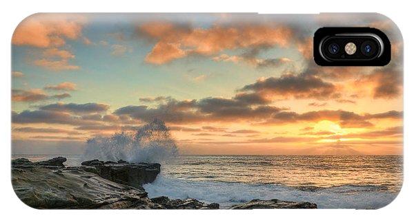 La Jolla Cove At Sunset IPhone Case