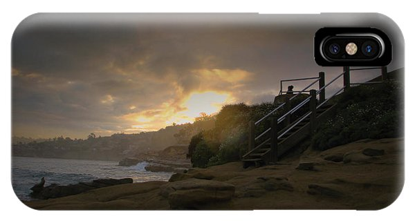 La Jolla Cove Sunrise IPhone Case