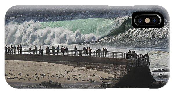La Jolla Monster Surf IPhone Case